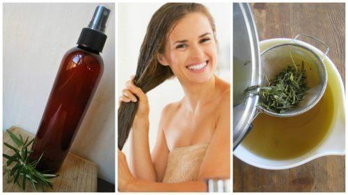 Balsam natural pentru întărirea părului