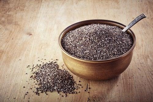 Semințele de chia susțin scăderea poftei de mâncare