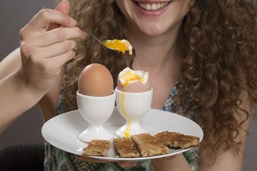 Ouăle susțin scăderea poftei de mâncare