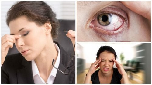 8 simptome ale stresului vizual