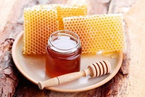 Cremă de banană și miere 100% naturală