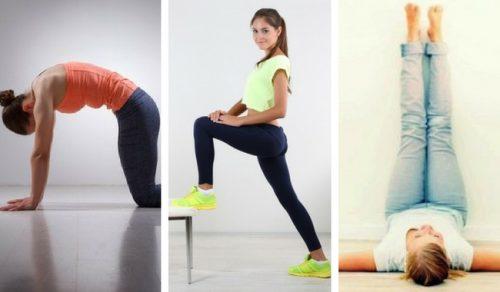 9 exerciții fizice matinale pentru 9 minute