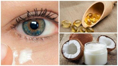Cremă naturală care întinerește pielea din jurul ochilor