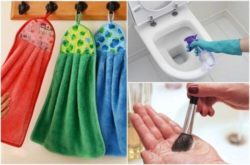 9 obiecte care trebuie curățate zilnic