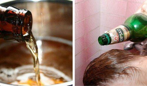 6 remedii cu bere pentru păr și piele