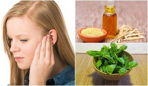 6 remedii naturale pentru reducerea țiuitului din urechi