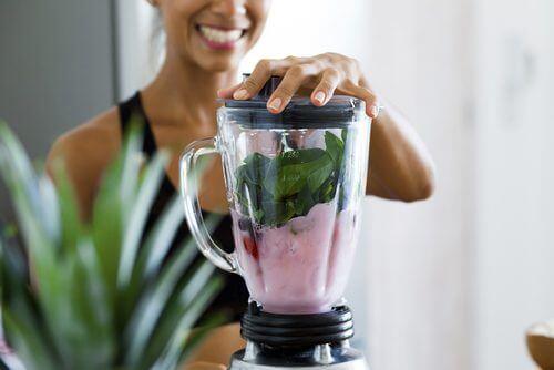 Preparare de smoothie-uri bogate în proteine vegetale ce oferă beneficii