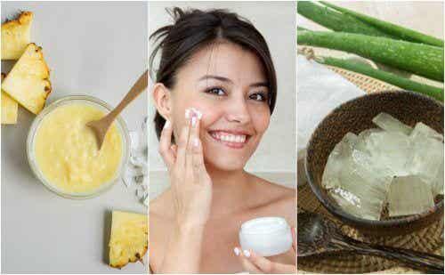 5 tratamente naturale pentru tonifierea tenului