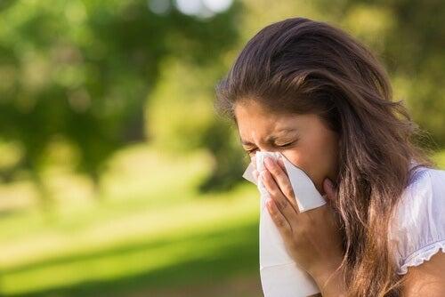 Alergiile pot fi semne că ficatul este plin de toxine