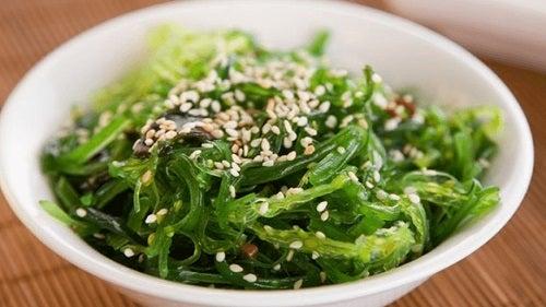 Algele marine sunt alimente care curăță arterele