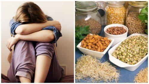 Cele 6 carențe nutriționale asociate depresiei