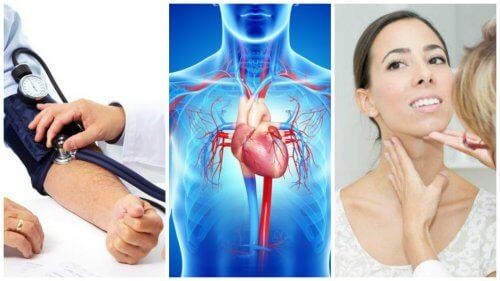 7 cauze ale insuficienței congestive a inimii