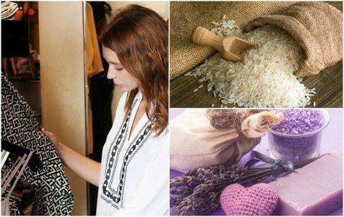 7 trucuri pentru eliminarea mirosului urât din șifonier