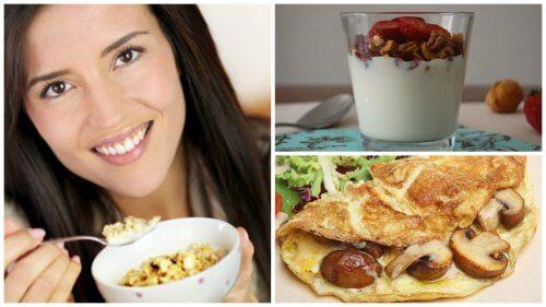 Un mic dejun bogat în proteine – 5 idei delicioase