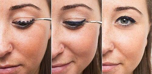 Modalități pentru aplicarea tușului de ochi