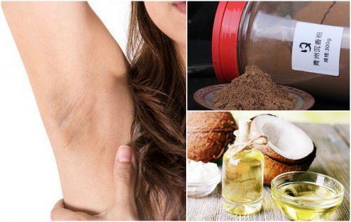 6 remedii naturale pentru pielea închisă de la subraț