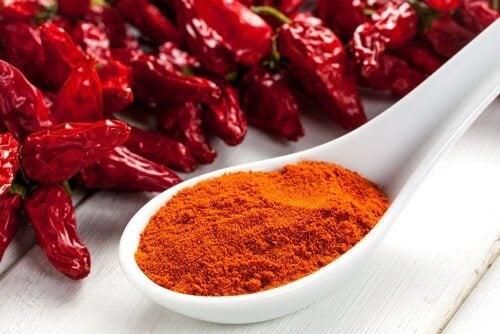 Remedii împotriva sângerărilor nazale cu piper roșu