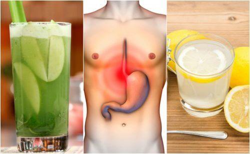 5 remedii pentru arsurile la stomac