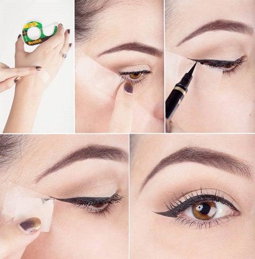 Trucuri pentru aplicarea tușului de ochi