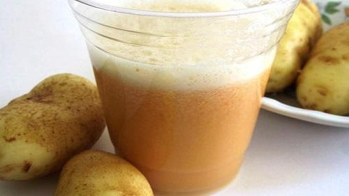 Cartofi în remedii naturiste pentru gastrită