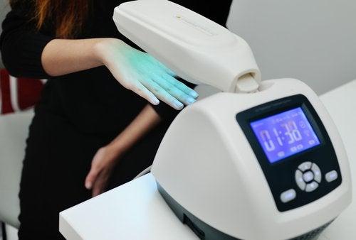 Fototerapia pe lista de tratamente pentru psoriazis