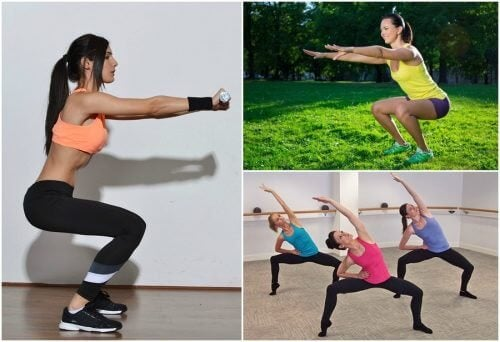 6 tipuri de genuflexiuni pentru tonifierea picioarelor