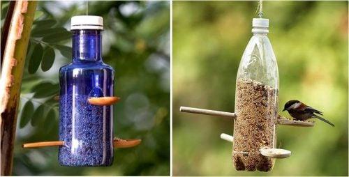 Reciclarea sticlelor de plastic în recipient de hrană