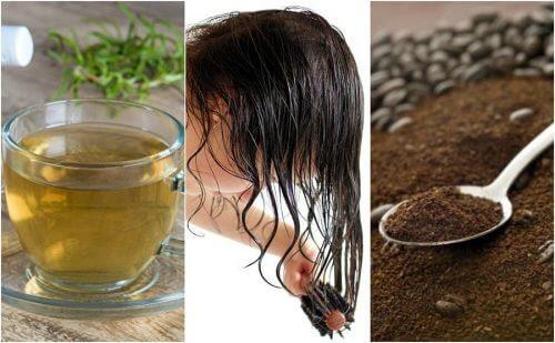Acoperă firele albe cu 5 remedii naturale