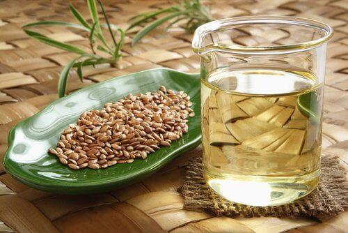 Tratament cu semințe de in pentru a scăpa de pielea lăsată