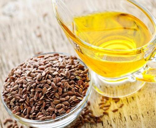 Semințe de in ca remedii naturiste împotriva constipației