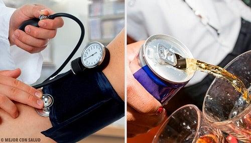 5 băuturi care cresc tensiunea arterială