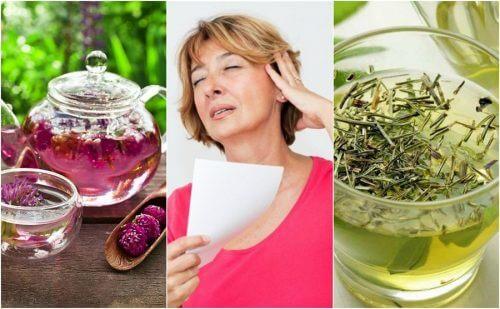 6 remedii naturale pentru bufeuri la menopauză