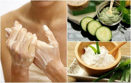 5 remedii naturiste pentru petele de pe mâini
