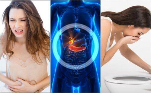 6 simptome ale afecțiunilor vezicii biliare