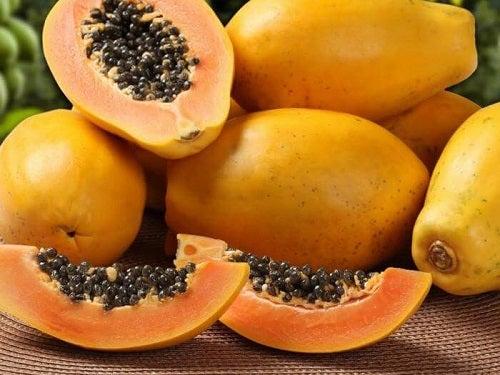 Alimente ideale pentru curățarea colonului ca papaya