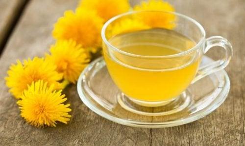 Ceaiuri pentru detoxifierea naturală a organismului cu păpădie