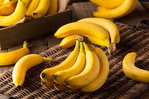 Banane coapte pentru chec cu banane fără făină