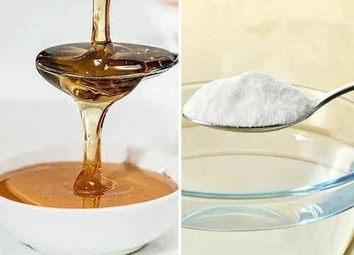 Bicarbonat de sodiu cu miere – 6 beneficii și 2 rețete