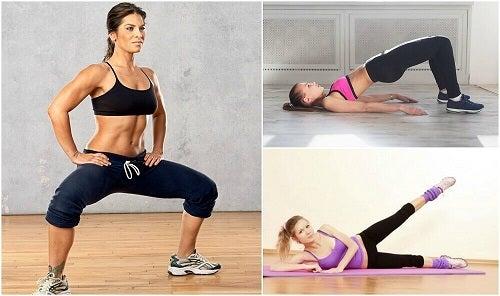 5 exerciții pentru tonifierea coapselor