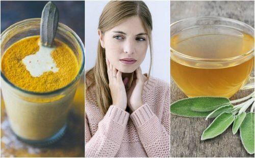 6 ingrediente naturale pentru a trata durerile în gât