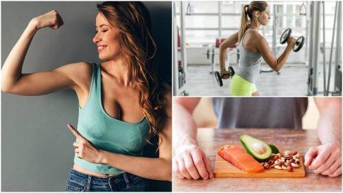 5 obiceiuri pentru creșterea masei musculare