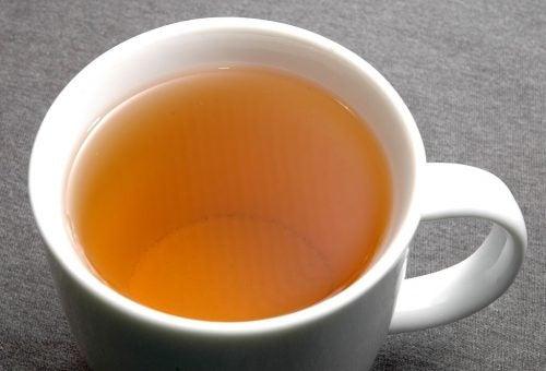 Remedii naturale pentru ficatul gras precum ceaiul de armurariu
