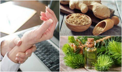 5 remedii naturale pentru sindromul de tunel carpian