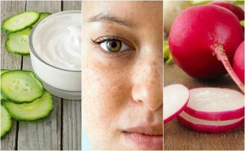 5 remedii naturiste pentru petele de pe față