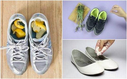 5 remedii pentru mirosul neplăcut din pantofi