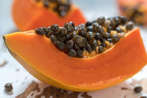 Remediu pentru balonare și flatulență cu papaya