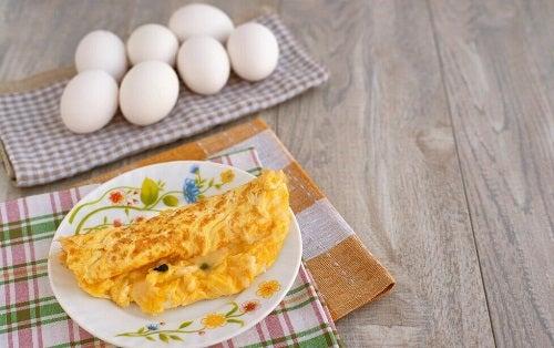 Rețete pentru un mic dejun sănătos cu omletă