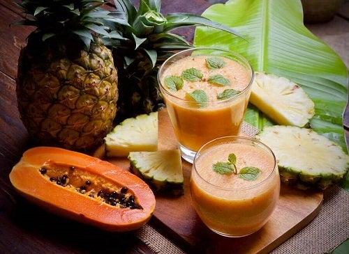 Rețete pentru un mic dejun sănătos cu papaya