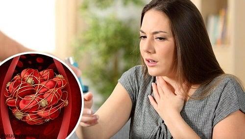 8 simptome ale cheagurilor de sânge