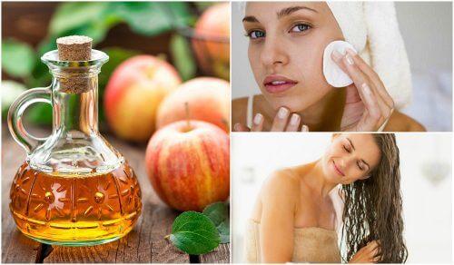 5 trucuri cosmetice cu oțet de mere